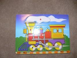 Melissa & Doug Train  6 Piece Puzzle kh - $6.50
