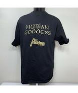 Vintage BET T Shirt Black Entertainment Network Nubian Goddess Single St... - $49.99