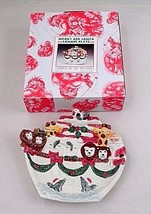 1995 Omnibus Fitz & Floyd Noah's Ark Santa Christmas Canapé Snack Candy ... - $7.97