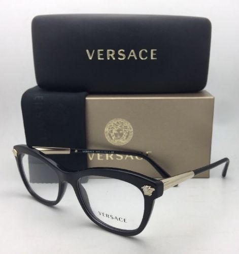 717efd473ad8 New VERSACE Eyeglasses MOD. 3224 GB1 52-17 and 50 similar items