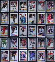 1992-93 Topps Hockey Cards Complete Your Set You U Pick From List 1-200 - $0.99+