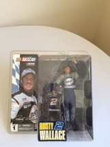 2003 NASCAR Action McFarlane Series 1 Rusty Wallace #2 - $12.19