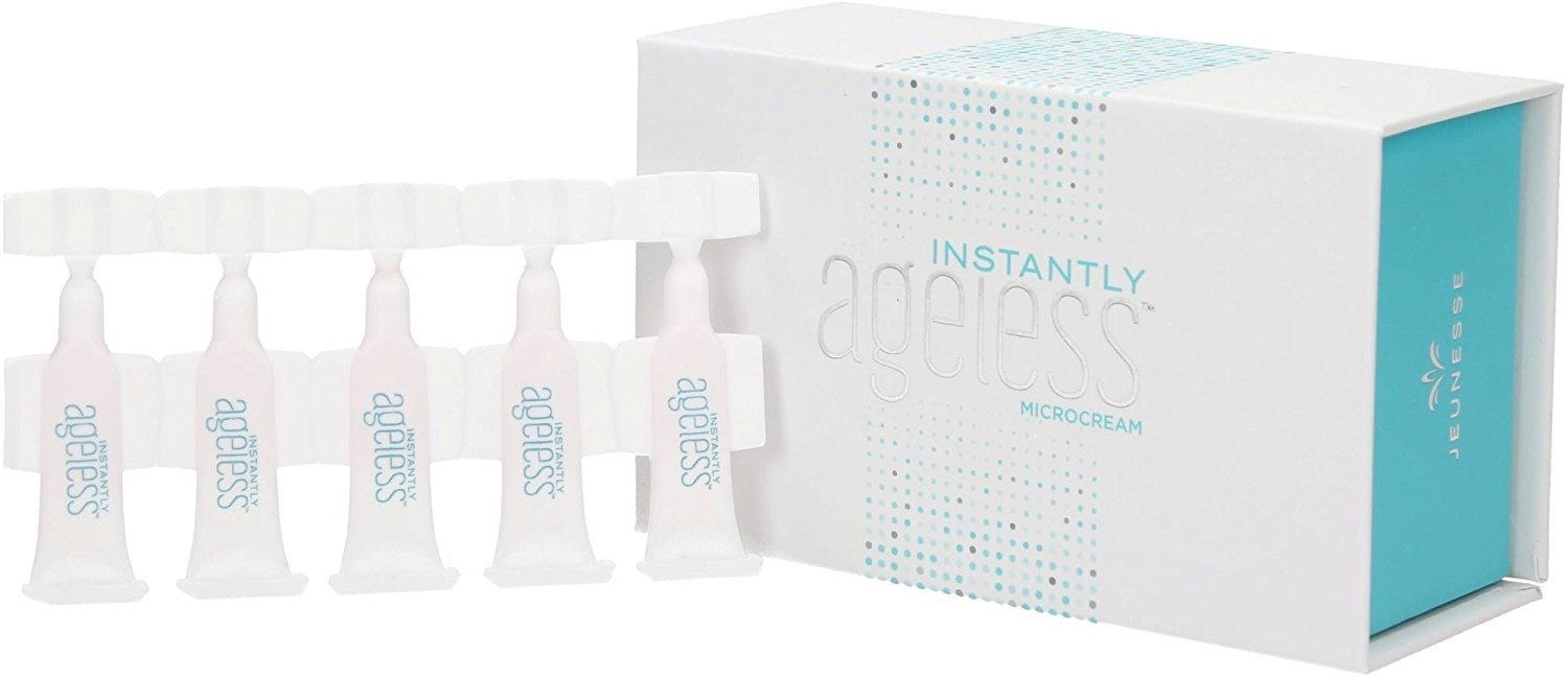 Jeunesse Luminesce Instantly Ageless Antiaging Product Box of 50 0.3ml. Sachets - $54.99