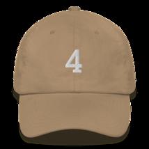 BRETT FAVRE 4 HAT / FAVRE HAT / 4 HAT / packers hat / DAD HAT image 4