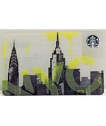 Starbucks New Empty Gift Card NYC Skyline 2015 - $0.99