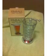 BARBUZZO--PINBALL PINT GLASS--BEER DRINKING GAME-----FREE SHIP--NEW - $19.00