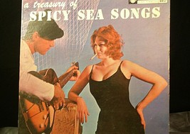 A Treasury of Spicy Sea Songs Bethlehem Records AA20-RC2105 Vintage