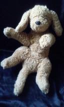 "Plush Brown Tan Dog By Gund 18"" Stuffed Toy - $12.86"