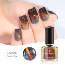 HOLOGRAPHIC 3D MAGNETIC SERIES Glitter Varnish Magnet Nail Art Lacquer image 4