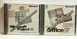Microsoft Office 97 Professional &  Project 98 Software CD Key Product Code - $25.70