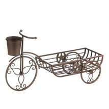 *17006B  Lonestar Brown Cast Iron Bicycle Planter - $35.75