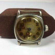Vintage Elgin Watch 3/0 Star Case Company Stellar 31mm Parts / Repair - $48.51