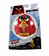 Angry Birds Vinyl Figures Lot of 4 Leonard, Chuck, Bomb and Red New Collectible image 5