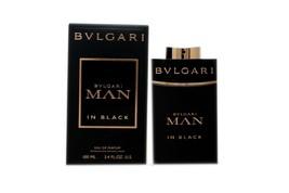 Bvlgari Man In Black Eau De Parfum Natural Spray 100 ML/3.4 Fl.Oz. Nib - $68.80