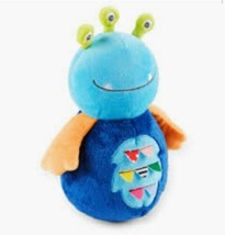 "NEW! Carter's Blue Alien  Baby Unisex Musical Wobble Plush Toy w Chimes 10"" - $28.01"