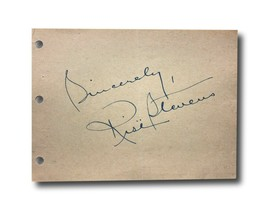 Rise Stevens Hand Signed Album Page Cut JSA COA Autograph Going My Way A... - $55.21