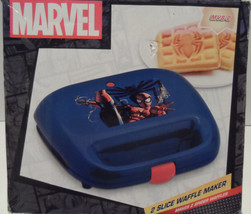 Marvel MVS-2, Spiderman Waffle Maker, Blue/Red New/box has minor damage - €21,39 EUR