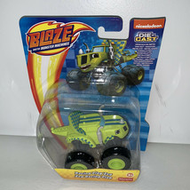 Blaze And The Monster Machines Racing Flag Zeg Die Cast Toy Vehicle Truck - $14.99