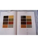 Mercedes Owners interior Color Chart w107 w123 sales brochure 380sl  300... - $19.79