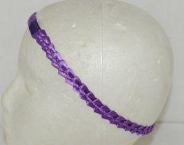 Pan Handle Babies Braid Bow Band Size Teen Item Number 1301B Purple image 5