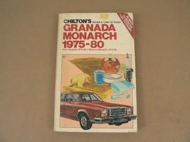 Original CHILTON's Ford Granada Monarch 1975-1980 Mercury Monarch Repair... - $30.00