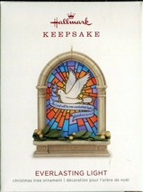 2018 Hallmark Keepsake Ornament - Dove Church Bible - Everlasting Light - $4.94