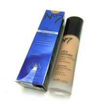 BOOTS No.7 LIFT & LUMINATE Serum Foundation Wheat Spf 15 1.0oz./30ml  NIB - $18.76