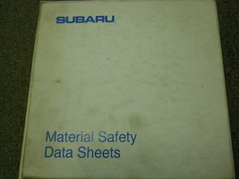 1990 Subaru Material Safety Service Repair Shop Manual FACTORY BOOK 90 B... - $44.49