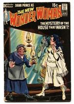 WONDER WOMAN #195 comic book 1971-no costume-DC BRONZE AGE-G/VG - $22.70
