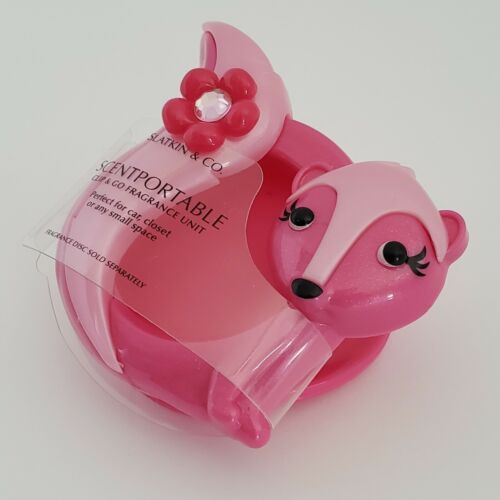 Pink Skunk Scentportable Bath Body Works Clip and Go Fragrance Unit Only No Disc image 3