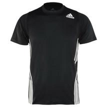 Adidas Free Lift 3-Stripes Training Top Men's Short Shirts Jersey Black ... - $44.99
