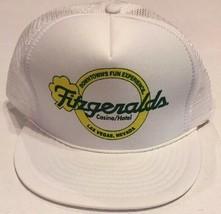 Vintage Snapback Fitzgeralds Mesh Cap Hat Defunct Casino Las Vegas Truck... - $6.76