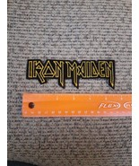 Vintage 1980s Iron Maiden Rock Band Sew or Iron on Patch NEW - $39.20