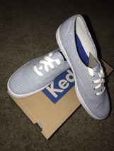 keds ch seersucker blue Size 10M Brand New With Box - $28.49