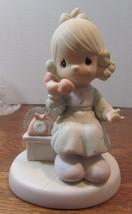 Vintage Precious Moments TELL IT TO JESUS Enesco Figurine-W/ Box - $22.28
