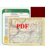 Fort Walla  Walla Cache of Walla Walla County, Washington - PDF - $2.95