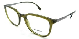Burberry Eyeglasses Frames BE 2307 3356 52-20-145 Olive Green Made in Italy - $176.40
