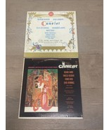 Camelot-Broadway Cast Recording w/ Julie Andrews & Motion Picture Vinyl ... - $12.00