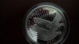 2021 Double Eagle Cook Islands $2 Coin 1/2 oz .999 Pure Silver Proof w/ coa - $65.45