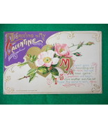Vintage Embossed Valentine Postcard John Winsch My Heart Goes Bounding O'er - $19.60