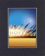 Motivational Poems - Hope. . . 8 x 10 Inches Biblical/Religious Verses set in Do - $11.14