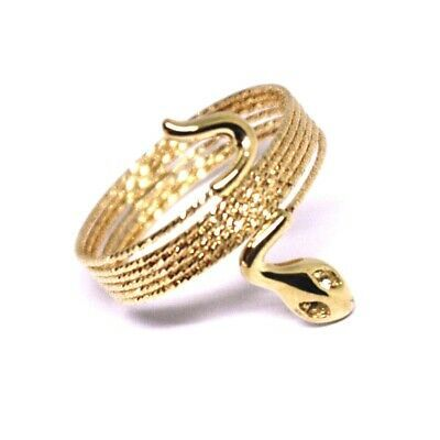 18K ROSE GOLD MAGICWIRE MULTI WIRES RING, ELASTIC WORKED SNAKE, WHITE TOPAZ