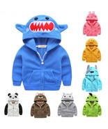Baby Kid Toddler Boy Girl Cartoon Hoodie Hooded Jumper Top Outfit Outwea... - $24.00