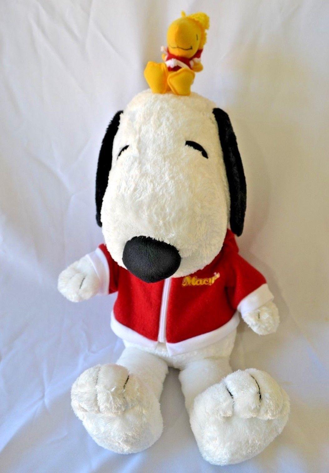 Peanuts Macy S Snoopy Woodstock Stuffed And 50 Similar Items