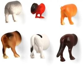 Kikkerland Farm Animal Butt Magnets, Set Of 6 (MG26) - $27.14