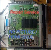 REPAIR SERVICE LG LG 50PZ550 60PZ550 EAX63546403 NO PICTURE HDMI ISSUE - $69.27