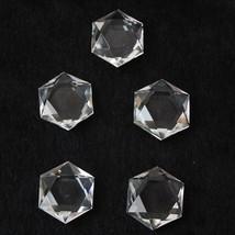 1Pcs Water Clear Quartz Crystal Star of David Natural Healing  081907 - $9.88