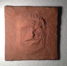 Cydonia, Face on Mars Display Plaque, Sandy Textured like Mars, Very Det... - $24.74