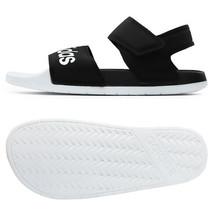 Adidas Adilette Sandals Slides Slipper Black/White F35416 - $47.99+