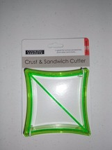 COOKING CONCEPTS CRUST & SANDWICK CUTTER SQUARE NEW - ₨324.59 INR